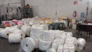 fábrica de bolsas de plástico